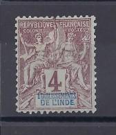 INDE  - N° 3 Neuf * - C:3,20 € - Inde (1892-1954)