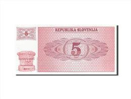 [#255719] Slovénie, 5 Tolarjev, Type 1990-1992 - Slovénie