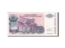 [#304229] Croatie, 100 000 Dinara Type 1992-93 - Croatie