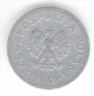 POLONIA 50 GROSZY 1949 - Polonia