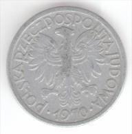 POLONIA 2 ZLOTE 1970 - Polonia