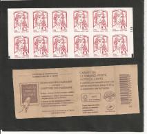 CARNET  851 C 1a  CARRE NOIR Sur N° 100   NEUF XX - Usage Courant