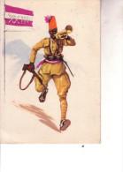 2a Guerra--XXIII BATTAGLIONE INDIGENO--Motto:Combattendo Mai Domo, Lavorando Mai Stanco--V 4 10 1938 - Weltkrieg 1939-45