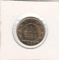200 LIRE 1982 R Qualité+++++++++++++++ - 1831-1865: Leopold I