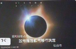 Éclipse Soleil - Solar Eclipse - Éclipse Lunaire - Lunar Eclipse (75) - Astronomie