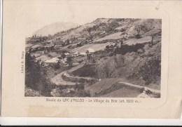 ROUTE DU LAC D ALLOS LE VILLAGE DU BRIE - Other Municipalities