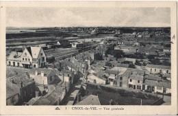 CROIX DE VIE  VUE GENERALE  CPA NO 1 - Saint Gilles Croix De Vie