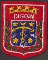 BEAU ÉCUSSON BRODE DIGOIN - Blazoenen (textiel)