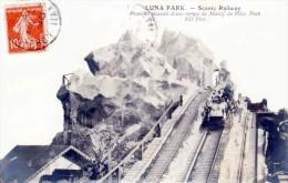 """Paris - Foire Du Trône - Le Luna Park - Attraction """"Massif Du Pikes Peak"""" - Très Beau Plan Animé - Fiere"""