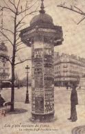 Les P'tits Metiers De Paris-la Colonne D'affiches Theatrales - Straßenhandel Und Kleingewerbe