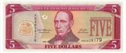 Liberia 5 Dollars 2009  Pick 26 UNC - Liberia