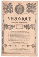 Partitions Musicales, VERONIQUE, De MM A. VANLOO Et G. DUVAL, Musique A. MESSAGE, Ed : CHOUDENS , Frais Fr : 1.80 - Partitions Musicales Anciennes