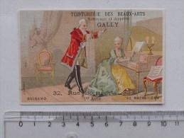 CHROMO BALSAMO Le Magnétisme 1er Acte: BOGNARD - Teinturerie GALLY Rue Bonaparte PARIS - Cromo