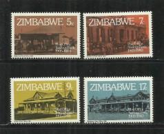 ZIMBABWE 1980 POST OFFICE SAVINGS BANK 75TH ANNIVERSARY COMPLETE SET 75 ANNIVERSARIO UFFICIO POSTALE SERIE COMPLETA MNH - Zimbabwe (1980-...)