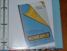 BUVARD-   Memocahier - Stationeries (flat Articles)