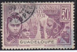 Guadeloupe Exposition Coloniale  N° 124 - Oblitérés