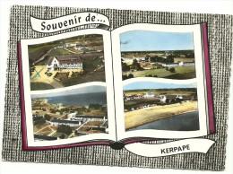 CP Souvenir Multi Vues KERPAPE - France