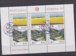 PGL V082 - PORTUGAL BF Yv N°20 EUROPA CEPT - Blocks & Sheetlets