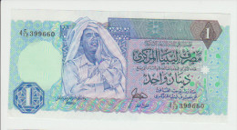 Libya 1 Dinar 1988  Pick 54 UNC - Libya
