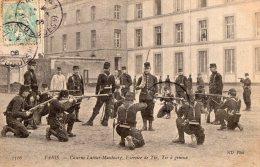 PARIS --Caserne Latour-Maubourg --Exercice De Tir --Tir à Genoux - Arrondissement: 07