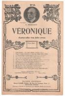 Partitions Musicales, VERONIQUE, De MM. A. VANLOO Et G. DUVAL, Musique : A. MESSAGER, Ed : CHOUDENS, Frais Fr : 1.80 - Partitions Musicales Anciennes