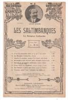 Partitions Musicales, LES SALTIMBANQUES, Paroles M. ORDONNEAU, Musique L. GANNE, Ed : CHOUDENS, Frais Fr : 1.80 - Partitions Musicales Anciennes