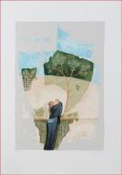 X Leo Borghi (1937)  OPERA GRAFICA   DIM. 52X74 TIR. 35/120, Firma E Tiratura A Matita In Basso, TIMBRO A SECCO - Litografia