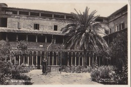 Espagne - Islas Baleares - Mallorca - Palma - Claustro De San Fransisco - Cachet Postal Haucourt 1934 - Palma De Mallorca