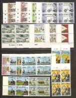 1975 Isola Di Man ANNATA,  YEAR  4 Annate Di 16v. (43/46, 51-62) In Quartina MNH** Bl.4 - Isola Di Man