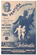 Partitions Musicales, ANTOINE & ANTOINETTE, Paroles A. HORNEZ, Musique M. LANJEAN, Frais Fr : 1.80 - Partitions Musicales Anciennes