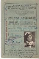 CARTE REDUCTION ..ENFANT...30%...1943..MO INS DE DIX ANS ..  BE ..SCAN - Abonnements Hebdomadaires & Mensuels
