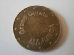 Jeton Grand Cercle De Majunga A Madagascar - Casino