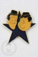 Laurel And Hardy Stars - Pin Badge #PLS - Personajes Célebres