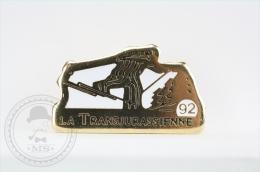 La Transjurassienne - Pin Badge #PLS - Invierno