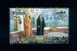 EGYPT / 2014 / COSTUMES / WORLD HERITAGE DAY / AGRICULTURAL MUSEUM-EGYPT / MNH / VF - Nuovi