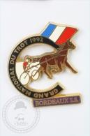 Grand National Du Trot 1992 - Bordeaux S.S. - Signed Starpins - Pin Badge #PLS - Pin