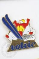 Ski Jumping - Volvic Advertising - Pin Badge #PLS - Invierno