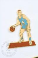 Basketball Player - Signed Béraudy Et Vaure - Pin Badge #PLS - Baloncesto