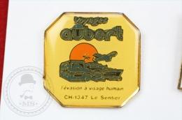 Voyages Aubert Advertising - Pin Badge #PLS - Transportes