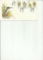 TRANSKEI 1980 FAUNA BIRDS UCCELLI FDC FIRST COVER DAY - Transkei