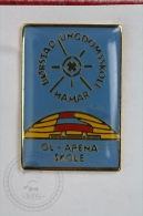 Børstad Ungdomsskole Hamar - Ol - Arena Skole - Ice Skating - Pin Badge #PLS - Sonstige