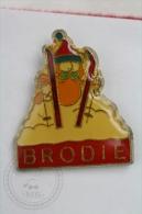 Garfield Skiing - Brodie - Pin Badge #PLS - Cómics