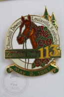 Churchill Downs Louisville Kentucky Derby 113 - May 2, 1987 - Pin Badge #PLS - Pin