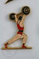 Weightlifting Arthus Bertrand - Pin Badge #PLS - Halterofilia