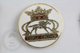 Triple Crown Horse Racing - Pin Badge #PLS - Pin