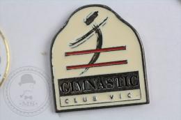 Spanish Athletic Club - Gimnastic Club Vic - Pin Badge #PLS - Atletismo