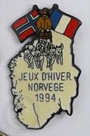 Winter Games/ Jeux D´Hiver - Norway/ Norvege 1994 - Pin Badge #PLS - Invierno
