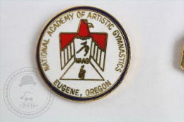 National Academy Artistic Gymnastics - Eugene, Oregon - Pin Badge #PLS - Atletismo