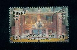EGYPT / 2014 / HANDCRAFTS / POTTERY MAKER / WORLD HERITAGE DAY / AGRICULTURAL MUSEUM-EGYPT / MNH / VF - Nuovi