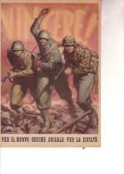 """2a Guerra--F.M.- P.M. Com. Va Legione Milizia Nazionale Forestale """"Ramazzotti"""" Bologna-- Ill Boccasile - Weltkrieg 1939-45"""